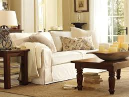 Furnitures Pottery Barn Slipcovered Sofa Best Pb Fort Square