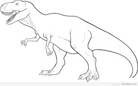 Free Coloring Pages Dinosaurs