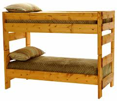 Twin Over Twin Bunk Beds With Trundle by Wrangler Twin Over Twin Bunk Bed Cinnamon Finish Hom Furniture