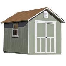 Shed Plans 8x12 Materials by Handy Home Products Majestic 8 Ft X 12 Ft Wood Storage Shed