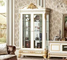 vitrine glas schrank wohnzimmer schaufenster 2türige vitrinen hochschrank