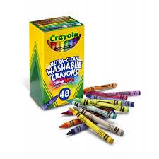 Crayola Bathtub Crayons Stain by Crayola 48 Count Ultra Clean Washable Crayons Walmart Com