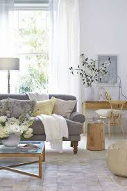 neutral grey living room modern house