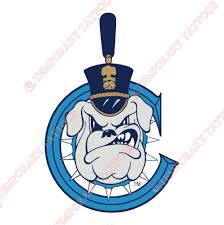 The Citadel Bulldogs Customize Temporary Tattoos Stickers NO6567