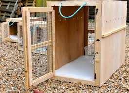 A Custom Made Dog Crate