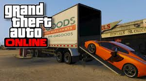 GTA 5 Online - How To Store Vehicles Inside Of 18 Wheeler Truck ...