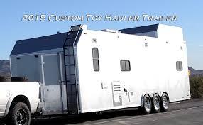 Custom ToyHauler Travel Trailer