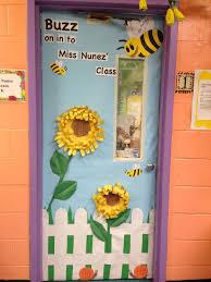classroom door decorations for spring decoration