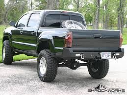 Rear Bumper With Integrated Receiver For 4th Generation Tacoma, 2005 ...