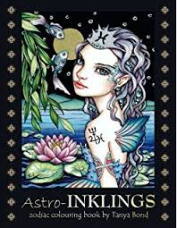 Amazon INKLINGS Colouring Book By Tanya Bond Coloring
