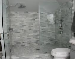 bathroom marble subway shower tiles pictures decorations