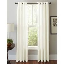 Sheer Curtain Panels With Grommets by Leno Weave Sheer Curtain Panel Ivory 54