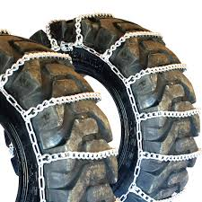 Titan Tractor Link Tire Chains Snow Ice Mud 10mm 16.9-24 | EBay