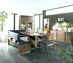 Dining Set With Bench Seat Room Tables Benches Table Leather