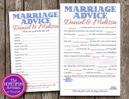Wedding Mad Libs With A Funny Marriage Advice Story Line