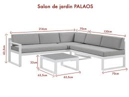 lounge sitzgruppe aluminium palaos anthrazit