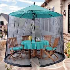 Mosquito Netting For 11 Patio Umbrella by Umbrella Mosquito Net Canopy Patio Table Set Screen House