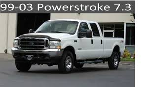 100 Diesel Truck Parts 9903 Ford 73 Powerstroke Auto Maintenance And