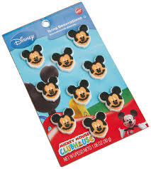 Mickey Mouse Bathroom Accessories Walmart by Amazon Com Wilton Mickey Mouse Clubhouse Icing Decorations