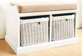 storage bench with cushion seat ideas home inspirations design
