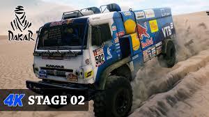 100 Game Trucks S In 4K First Fesh Fesh DAKAR 18 TRUCKS FULL Stage