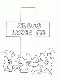 Free Printable Cross Coloring Pages For Kids Throughout