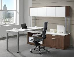 Ndi fice Furniture Elements L Shaped Desk Suite Plt1