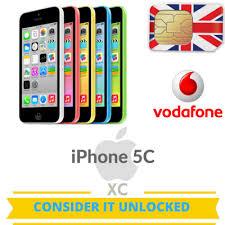 Vodafone Unlock iPhone 7 7PLUS 6S 6S PLUS SE 6 6PLUS 5S 5C