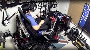 Check Out This Amazing $25,000 Racing Simulator Build | Digital Trends Fantastic Cheap Gaming Chairs For Ps4 Playstation Room Decor Fresh Playseat Challenge Playstation Racing Foldable Chair Blue The Best Gaming Chairs In 2019 Gamesradar Trak Racer Rs6 Mach 2 Black Premium Simulator Openwheeler Seat Buyselljobcom Find New Evolution For All Your Racing Needs X Rocker Officially Licensed Infiniti 41 Dxracer Official Website With Speakers Budget 4 Kids Best Ultigamechair Under 200 Comfort Game Gavel