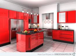 Red Themed Kitchen Ideas Amazing Of Cool Interior Design For Home Decorating