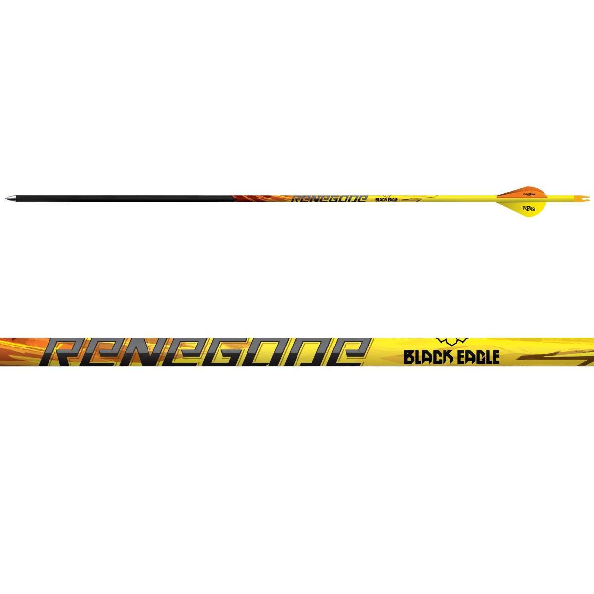 "Black Eagle Renegade Fletched Arrows - .005"", 6pk"