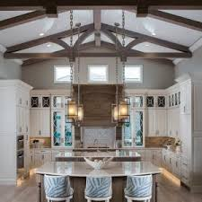 miami raised panel cabinets kitchen rustic with recessed lighting