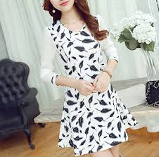New Design V Neck Chiffon Sleeve 14 19 Teenage Girls Fur Pattern Fall Dresses For Party Wedding Young Lady Princess Robe Spring In From Mother