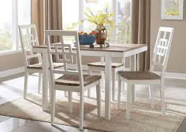 Brovada Two Tone Rectangular Dining Room Table SetSignature Design By Ashley