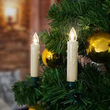 Homelux 20 Led Christmas Candles Tree Lights Remote