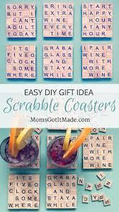 best 25 scrabble coasters ideas on scrabble letters