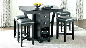 High Dining Table And Stools Kitchen Chairs Tall Sets Counter Height