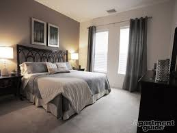 Apartment Bedroom Decorating Ideas Stunning E Grey Curtains Decor