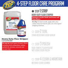 Terrazzo Floor Cleaning Tips by Zep 1 Gallon Heavy Duty Floor Stripper Case Of 4 Zulffs128 The