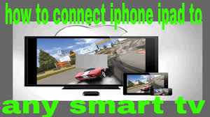 How to connect iPhone iPad iPod to any Smart TV