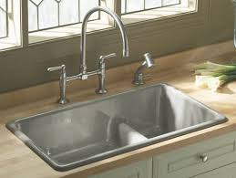 Drop In Bathroom Sink With Granite Countertop by Undermount Vs Drop In Sink Sinks Ideas