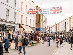 100 The Portabello Shopping Londons Portobello Road Market