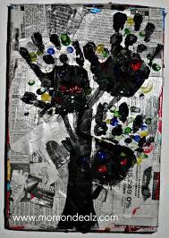 Kids Frugal Craft Newspaper Art