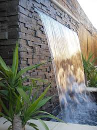 Wall Water Features Ideas Makiperacom With Garden Feature Trends Striking Outdoor Fountain Grande