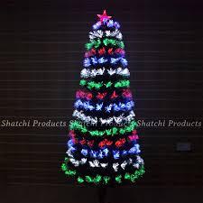 6ft Fiber Optic Christmas Tree Uk by Led Fibre Optic Christmas Tree Various Design Lightings Pre Lit