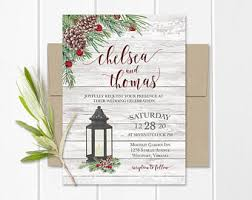 Lantern Wedding Invitations Greenery Wedding Invitations