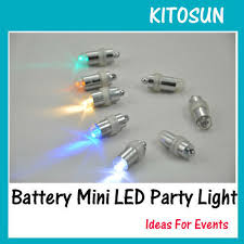 10pcs lot battery operated 11colors bright led mini