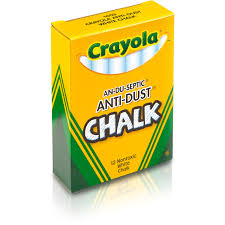 Crayola Anti-Dust Chalk - 3.3