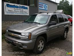 2006 Chevrolet TrailBlazer LS 4x4 In Graystone Metallic - 188682 ... Used Car Chevrolet Trailblazer Costa Rica 2006 Thrdown Holley Ls Fest 2008 Chevy Trailblazer Ss Photo Image No Roof Trailblazer Truck Forum Gmc Red Bull Dieter Losskarn Miller 302 Airpak Norcal Welding Inc Pickup Truck Accsories And Autoparts By Reveals Two New Concept Vehiclesin Thailand The News Wheel My Tahoe Pinterest Lt Suv Murarik Motsports Debuts At Dubai Intertional Motor Show 2015 Colorado Full Size Hd Trucks Gts Fiberglass Design Well Mtained 3lt Offroad Offroads
