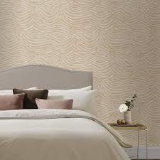 weiß goldene tapete schlafzimmer wand hintergrund zimmer